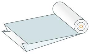 Rękaw foliowy z zakładkami